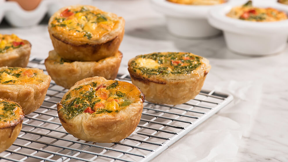 Mini Veggie Quiches Green Giant Canada Recipes